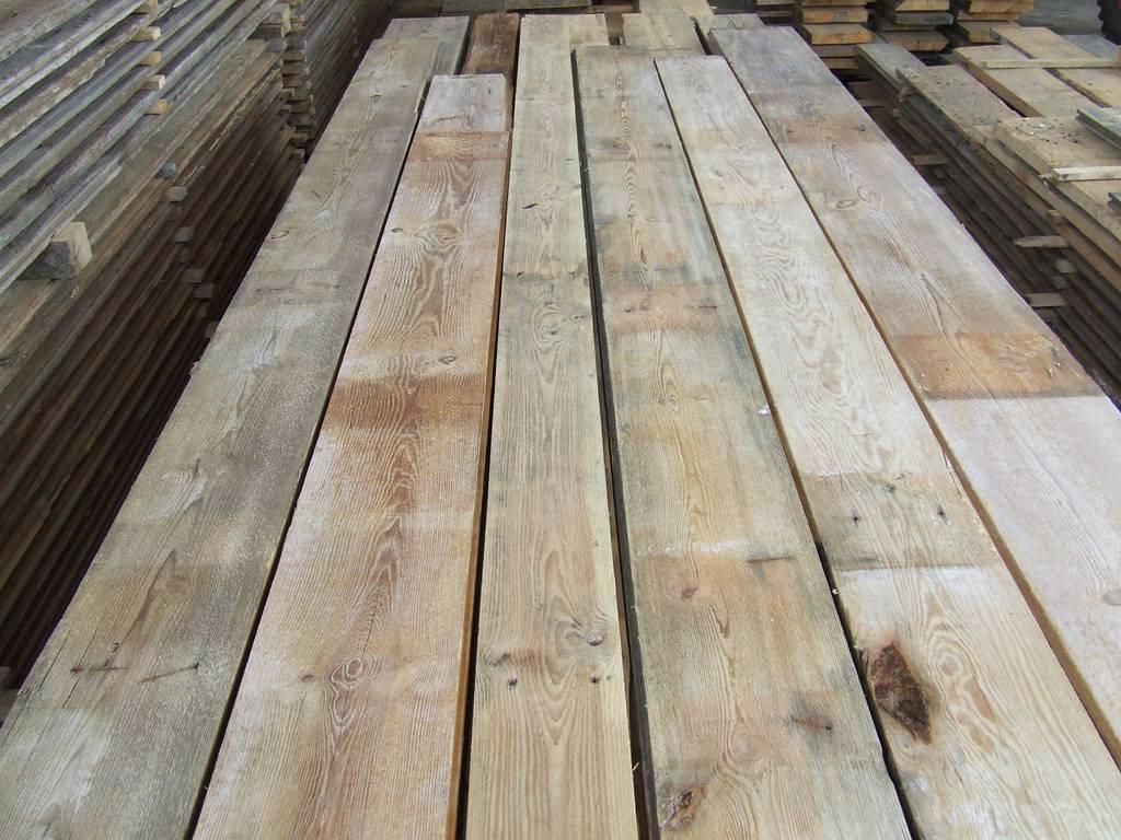 Old Pine Floorboards Antique Buildings